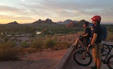 Private Sunset Sonoran Desert Mountain Bike Adventure
