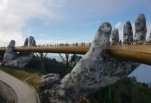 49 92 220x150 - Highlights of GOLDEN BRIDGE BA NA HILLS & CABLE CAR RIDE & Buffet Lunch(Private)