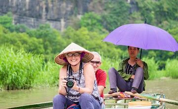 Simcard 7GB/7days &Hoa Lu-Tam Coc Small Group with Limo bus Buffet, Boating...