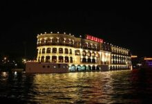 Amazing Dinner on a Nile Cruise