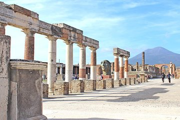 Schneller Eintritt: exklusive private halbtägige Tour durch das antike Pompeji mit ortskundigem Reiseleiter