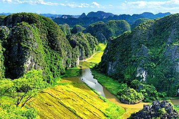 Hoa Lu - Tam Coc- Mua Cave 1 Day - By Limousine Bus